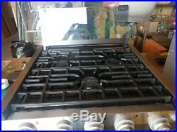 17 Furrion Rv Range Oven Fsre17sa-ss Stove Lp Piezo Ignition
