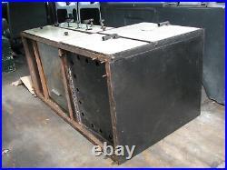 1930s COLEMAN Model 945A KITCHEN RANGE Green Enamelware Gas Stove/Oven ANTIQUE