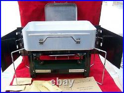 1945 Coleman 523 US Military Medical Sanitizing Stove WithCase Parts Booklet Works
