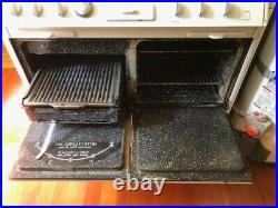 1950 O'Keefe & Merritt Vintage Stove Double Oven Broiler Griddle 50s retro