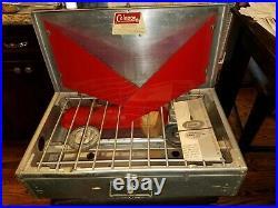 1962-64 Vintage COLEMAN DIAMOND LOGO ALUMINUM CAMP STOVE No. 442 A