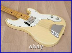 1974 Fender Telecaster Bass Ash Body, Blonde with Wide Range Humbucker, Case