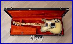 1979 Fender Telecaster Custom Vintage Electric Guitar Antigua withohc, Wide Range