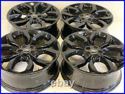 19 Land Rover Range Rover Evoque VELAR OEM WheelS RIMS 97669 GENUINE X8 BLACK