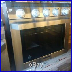21 Furrion Rv Range Oven Fsre21sa-ss Stove Lp Piezo Ignition