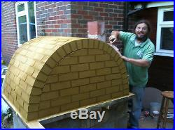 24 New Full Size Wood Oven Stove Fire Brick Refractory Clay 9x4.5x2.5