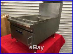 25 LB Counter Top Gas Deep Fryer Imperial Range IFST-25 Commercial NSF #2868 USA