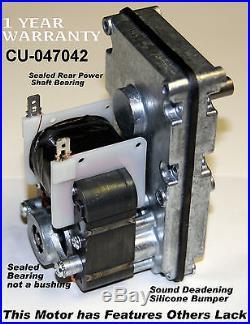 2.4 RPM ENGLANDER STOVE AUGER MOTOR CU-047042 NEW VERY QUIET CU047042 i