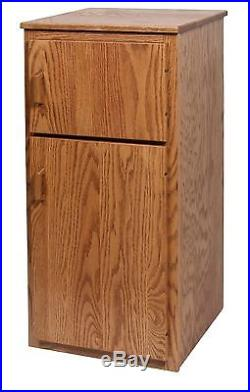 2-Pc. Kids Pretend Play Kitchen Stove Refrigerator Amish Handcrafted Solid Wood