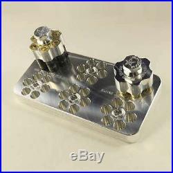 (2) Taurus 6-Shot Raging Judge Speedloaders 410 &. 454 + (1) Range Block, PINK