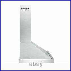 30 Wall Mount Range Hood Kitchen Exhaust Stove Vent Fan LED Light 330 / 350 CFM