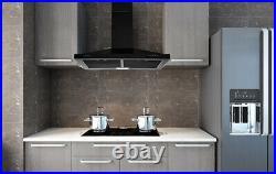 30 in Wall Mount Range Hood Kitchen Exhaust Stove Vent 350CFM Mechanical Control