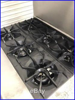 36 6 Burner Gas Range Standard Oven American Range AR-6 #8535 Commercial Stove