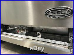 36 OPEN 6 BURNER Gas Range & Standard Oven DCS 36-6-1N #9349 NSF USA Restaurant