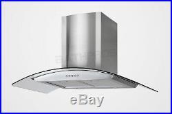 36 Stainless Steel Wall Mount Range Hood Mesh Stove Kitchen Vent 760 CFM Motor