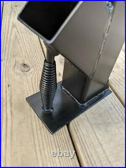 3 Rocket Stove Rear Draft Gravity Fed Removable Top Free Shipping! USA Made