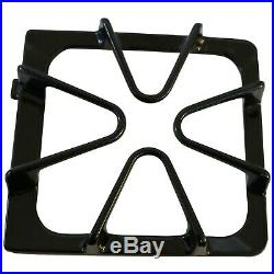 4 Pk Gloss Black Oven Stove Range Burner Grates Replacement for Whirlpool 852285