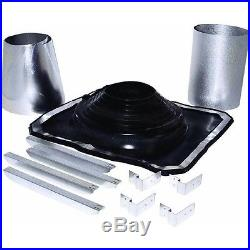 5 To 8 Galv Rubber Boot Metal Roof Chimney Stove Pipe Flashing Kit 200275