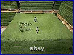5' x 5' Rawhide Commercial Golf Practice Driving Range Mats (C Grade)