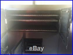 8.5X20 BBQ Porch Trailer SMOKER INSTALLED, DEEP FRYER, 4 Burner Stove, Refrig