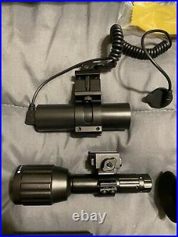ATN X-Sight II HD 5-20X Day Night Rifle Scope with1080P Video, Range Finder, WIFI