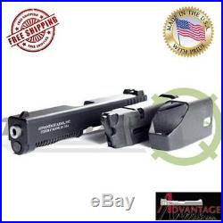 Advantage Arms. 22LR LE Conversion Kit For Glock 19 23 Generation 4 With Range Bag