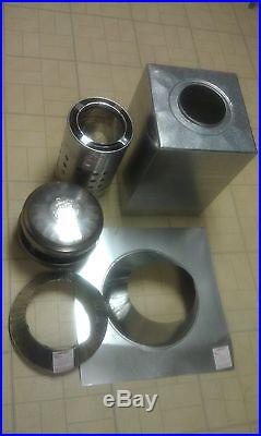 Airjet 6SRSK 6 A Frame Wood Stove Chimney Pipe Roof Support Kit