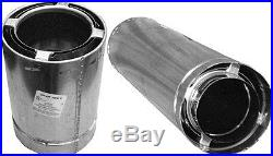 Airjet 8S4 8 x 48 All Fuel Triple Wall Class A Chimney / Stove Pipe