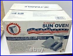 All American Sun Oven The Ultimate Solar Cooking Appliance / Solar Stove Bonus