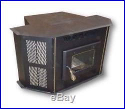 Amazablaze 4100 fireplace insert corn pellet stove stainless vent free shippin