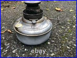 Antique # 1527 Perfection Oil Kero Pyrex Glass Parlor Cabin Heater Stove Lantern