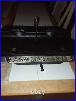 Antique 1884 Adams & Westlake kerosene cast iron cook stove