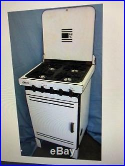 Antique 1936 Magic Chef Stove (White)
