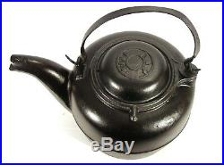 Antique A. G. P Foundry Ohio Bird Spout Stove Cast Iron Camp Fire Tea Kettle Pot