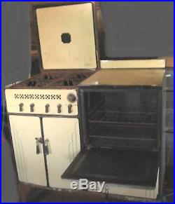 Antique Enamel Florence Gas Kitchen Stove Movie Prop