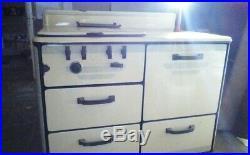 Antique Gas Magic Chef Stove Kitchen Enamel