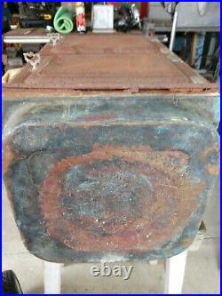Antique The Swartzbaugh Mfg Co Conservo 2 Door Canner Steamer Copper Bottom