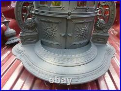 Antique Victorian Cast Iron Parlor Stove 1857