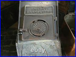 Antique/Vintage Energy Harvesters Fitzwilliam NH Cast Iron Wood Stove Condition