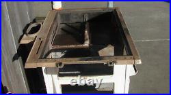Antique Wood Burning Cook Stove, a couple flaws, mostly good condition