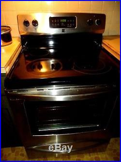 Appliance New Stainless Steel Electric with Dual Fuel Kitchen Stove