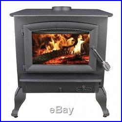 BRECKWELL CAST IRON WOOD STOVE Model SW740 with legs