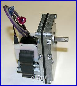 BRECKWELL PELLET STOVE AUGER MOTOR 1 RPM C-E 017M 80642 VERY QUIET g
