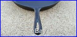 BSR Birmingham Stove & Range #14 Cast Iron Skillet Sits Flat No Cracks