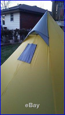 Big Agnes Yahmonite 5 Ultralight Tipi Tent with Stove Jack SL5 Golite Shangri-La 5 & Big Agnes Yahmonite 5 Ultralight Tipi Tent with Stove Jack SL5 ...