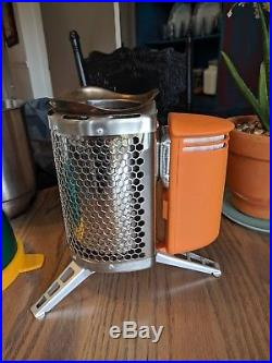 BioLite CampStove & Kettle. Portable Wood Burning Stove & Power Generator