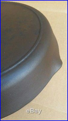 Birmingham Stove & Range BSR #14 Large Cast Iron Skillet