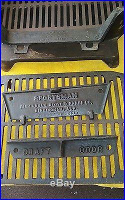 Birmingham Stove & Range Cast Iron Sportsman Grill
