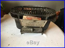 Birmingham Stove and Range Cast Iron Sportsman Grill