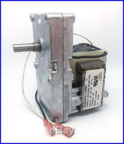 Breckwell Auger Feed Motor Pellet Stove Fireplace 4 RPM CW WithHole CE010, C-E-010